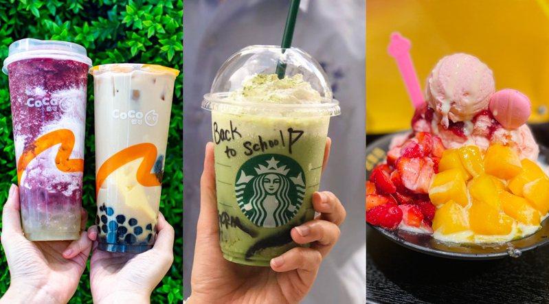 品牌優惠品項示意圖。圖/CoCo提供、星巴克咖啡同好會(Starbucks Coffee)、 編輯攝影