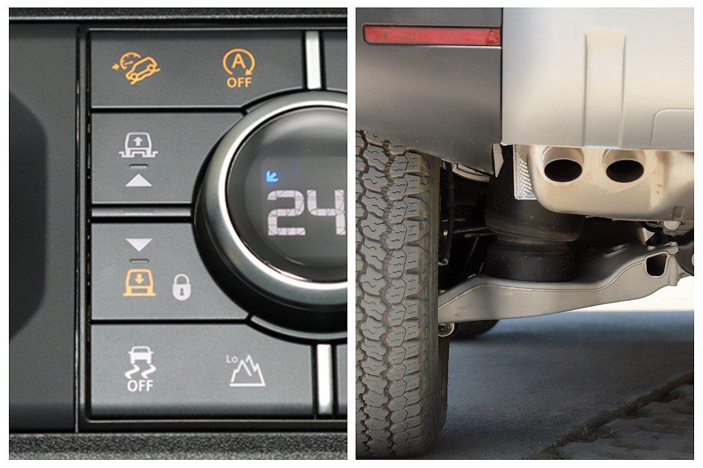 自2022年式起Land Rover Defender無論長軸、短軸車型,氣壓懸...