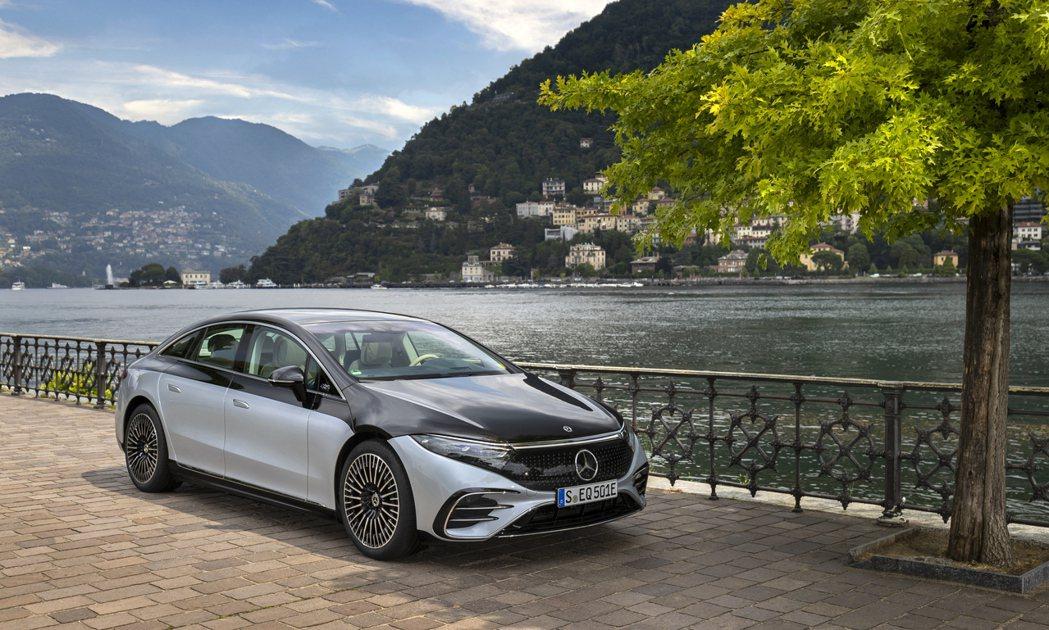 Mercedes-Benz EQS。 摘自Mercedes-Benz
