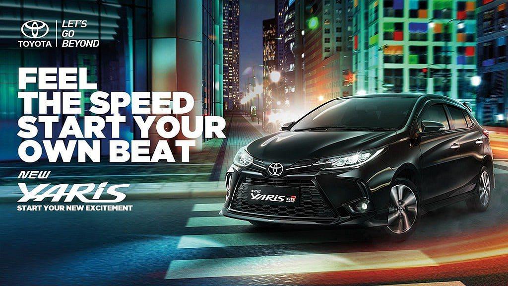 與台灣市場相同的Toyota Yaris車系,於印尼也獲得GR Sport的運動...
