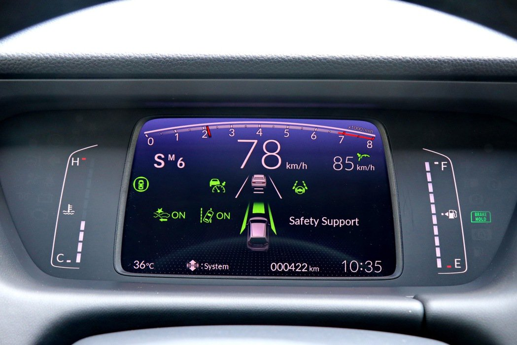 第四代Fit首度將Honda Sensing列為標準配備,提供ACC主動式車距調...