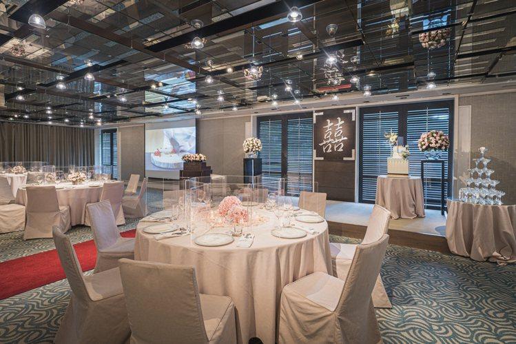 不少人視為婚宴首選的「君寓」。圖/台北君悅提供