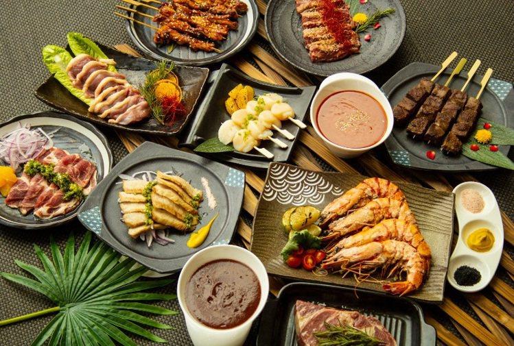 中秋極致燒肉生鮮禮盒。圖/新竹老爺酒店提供