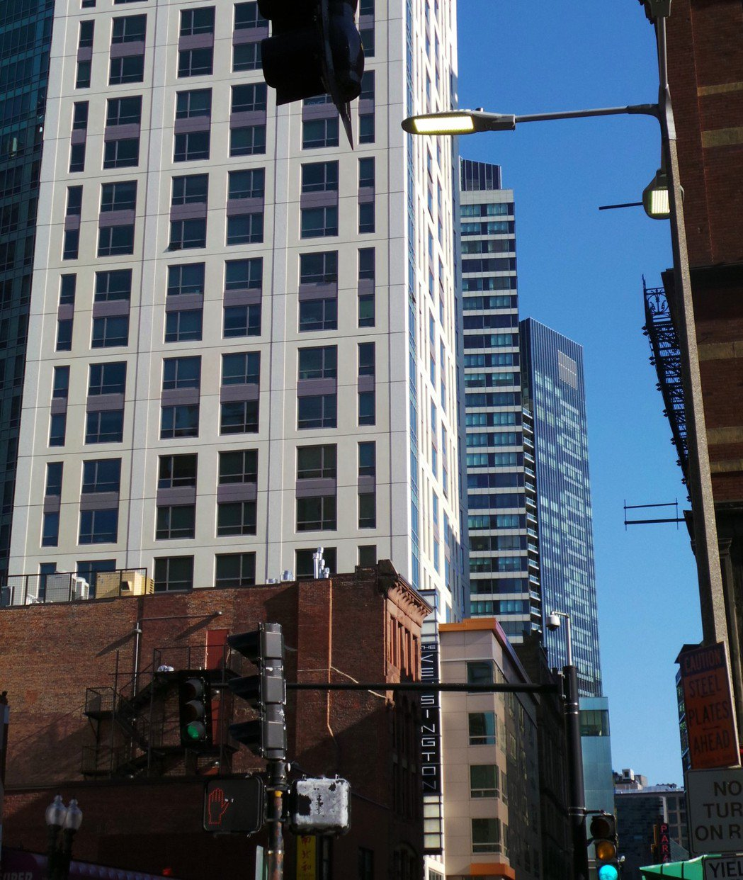 波士頓市中心公寓。(本報系資料庫)