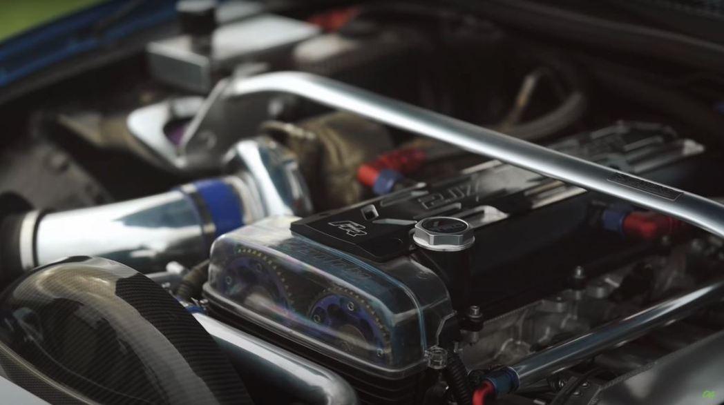3.0升2JZ-GTE直六引擎,搭配Syvec ECU設定和Precision ...