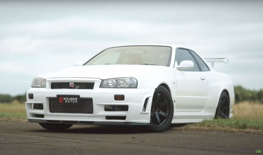 Nissan Skyline GT-R R34。 截自YouTube頻道:OFF...