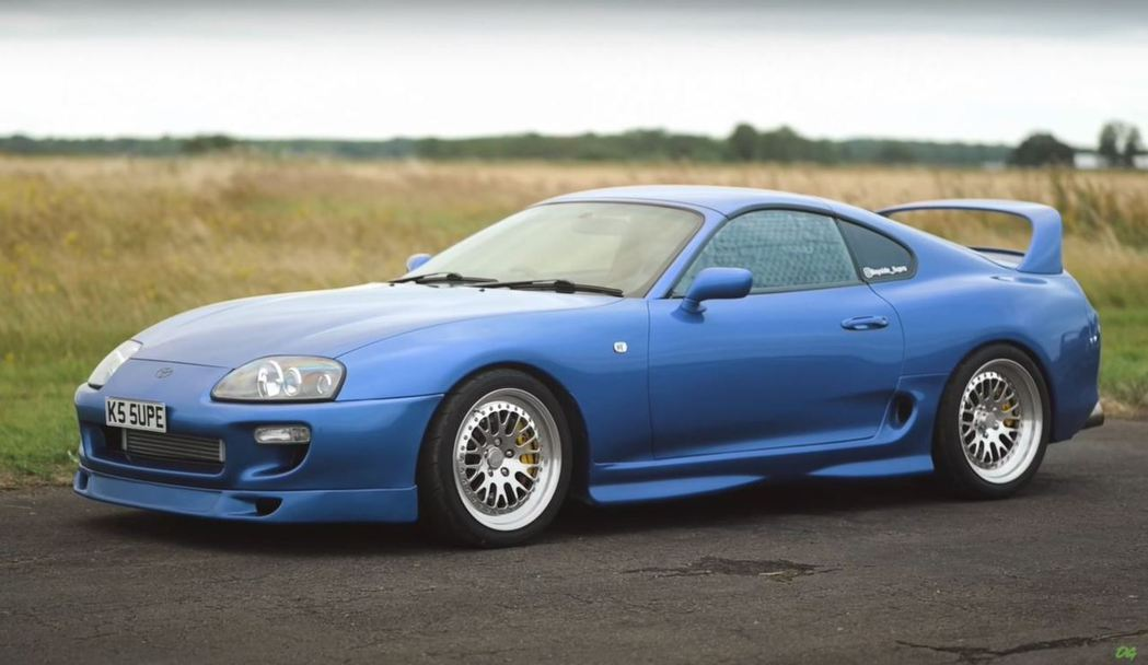 Toyota Supra。 截自YouTube頻道:OFFICIALLY GAS...