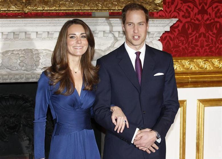 威廉與凱特身為英國未來的國王與王后,民調支持度居高不下。(路透資料照片)