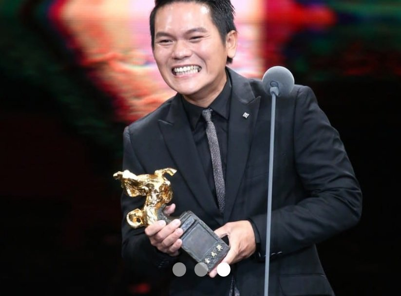 Suming獲頒 52 屆金馬獎「最佳電影原創歌曲」獎。 圖/104掌聲資料...