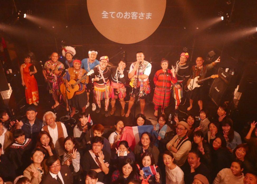 2018年,Suming和「海邊的孩子」表演團體到東京表演 圖/104掌聲資料照...