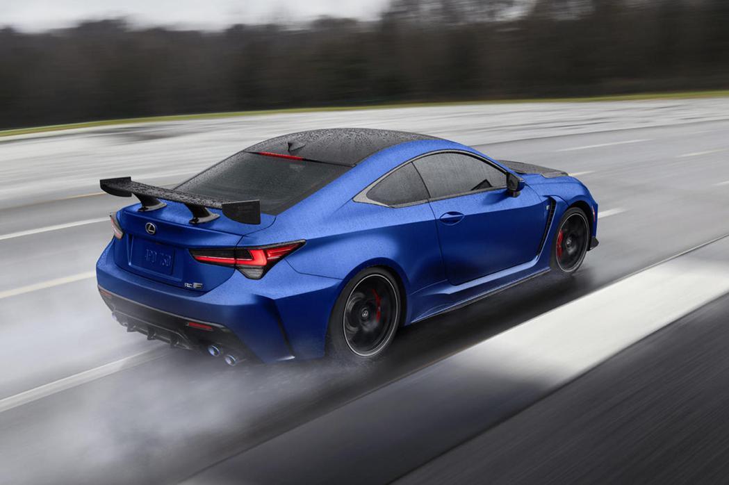 Lexus 2022年式RC F Fuji Speedway限定車型。 圖/LE...