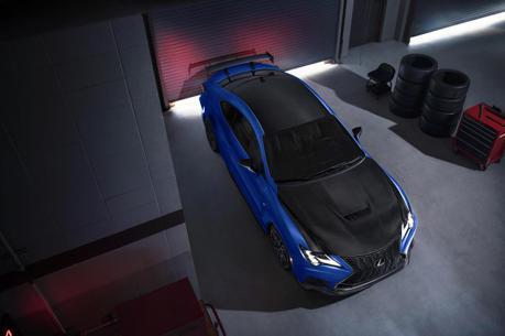 更輕更快更限量 Lexus將推2022年式RC F富士賽道限定版