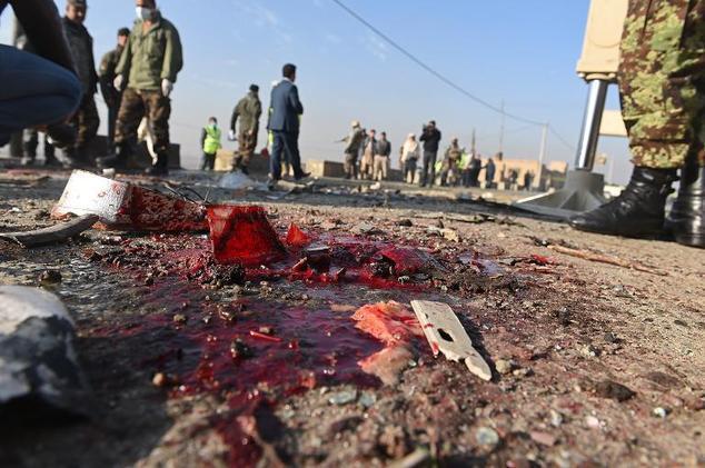 自從1839年第一次英阿戰爭開打,阿富汗就不見盡頭地流淌著鮮血和淚水。圖/AFP
