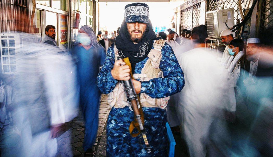 圖為塔利班戰士。 圖/法新社