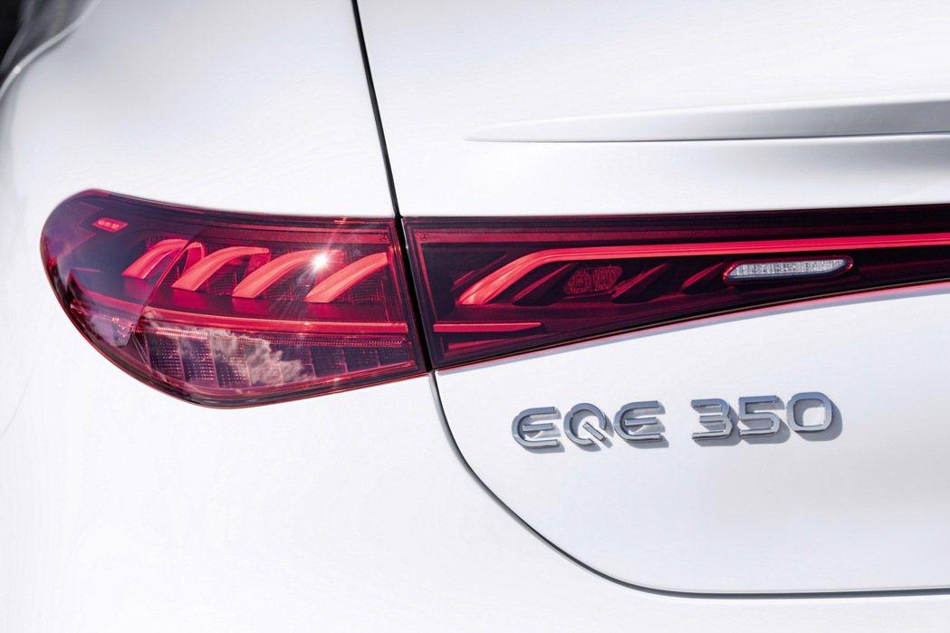 Mercedes-Benz目前首發只公布EQE 350的數據。 摘自Merced...