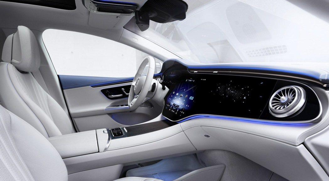 不用買到EQS,只要EQS就能享有大螢幕的科技感。 摘自Mercedes