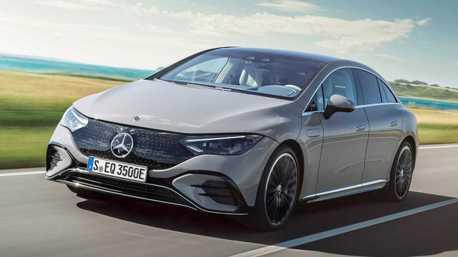 純電E-Class登場!全新Mercedes-Benz EQE正式亮相 續航力達660公里
