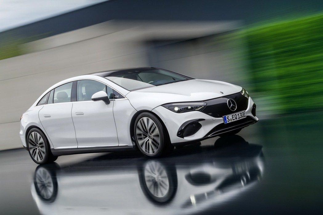 歐洲與美國市場的EQE將於2022年中開始生產。 摘自Mercedes