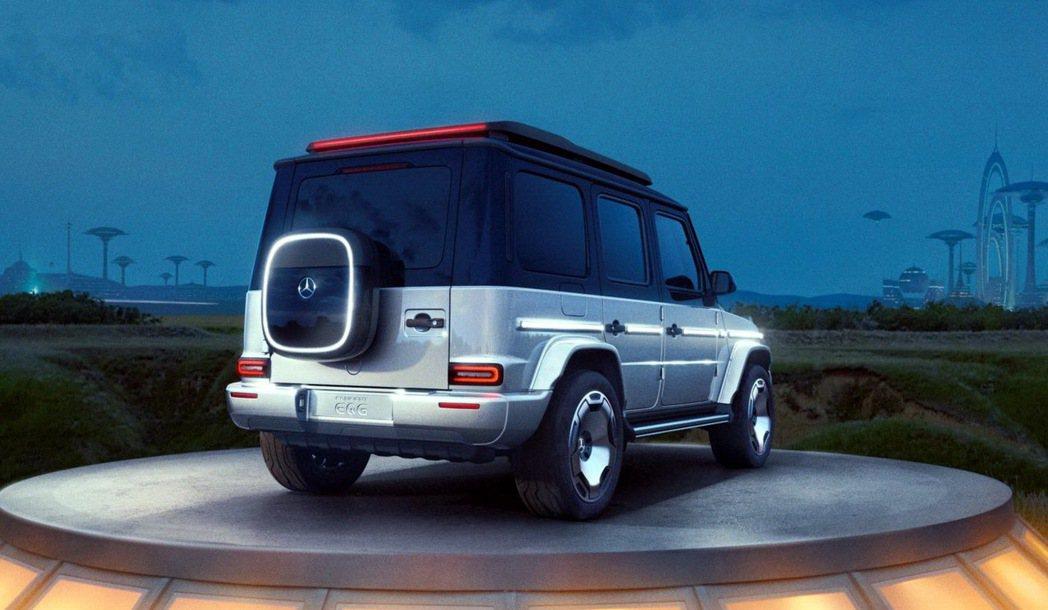 Mercedes-Benz EQG Concept概念車 摘自Mercedes