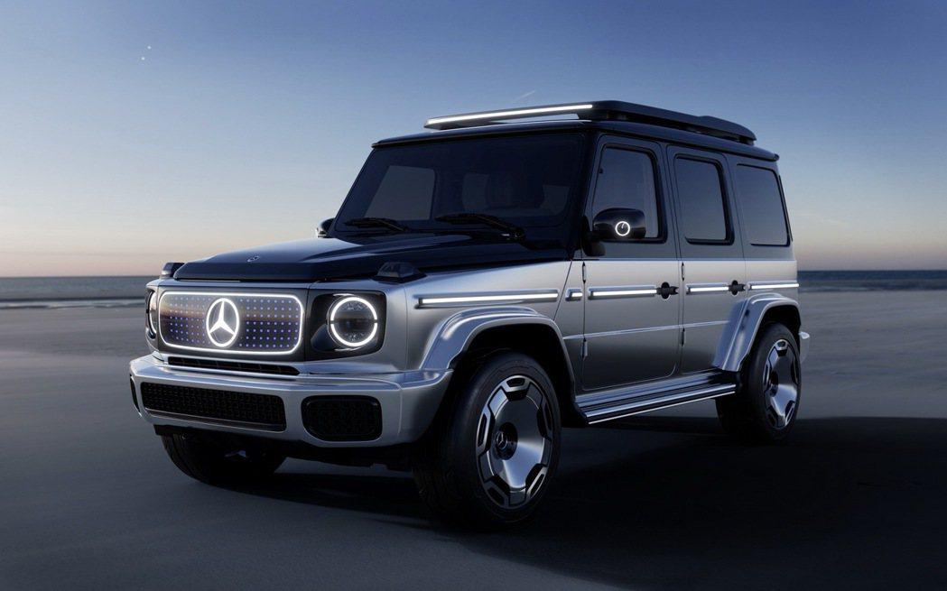Mercedes-Benz EQG Concept概念車。 摘自Mercedes