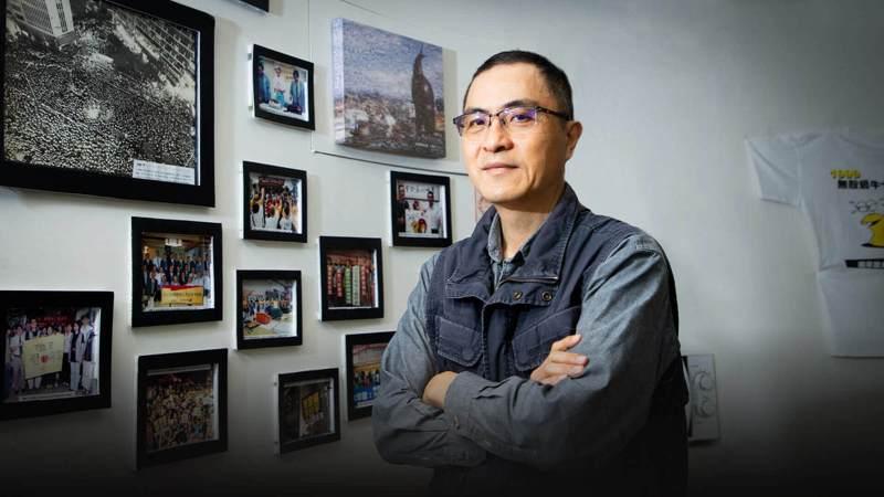 呂秉怡投身居住議題超過 30 年,他為全台租屋族發聲,希望政府從政策面著手,讓租屋市場更健全。記者曾原信/攝影