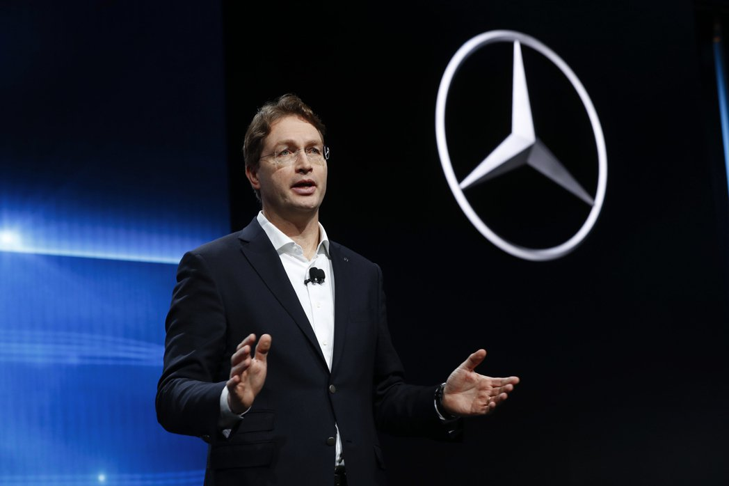 戴姆勒集團(Daimler)執行長康松林(Ola Kallenius)。(圖/美...