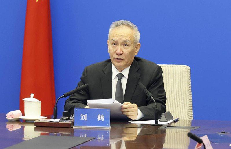 大陸國務院副總理劉鶴。新華社