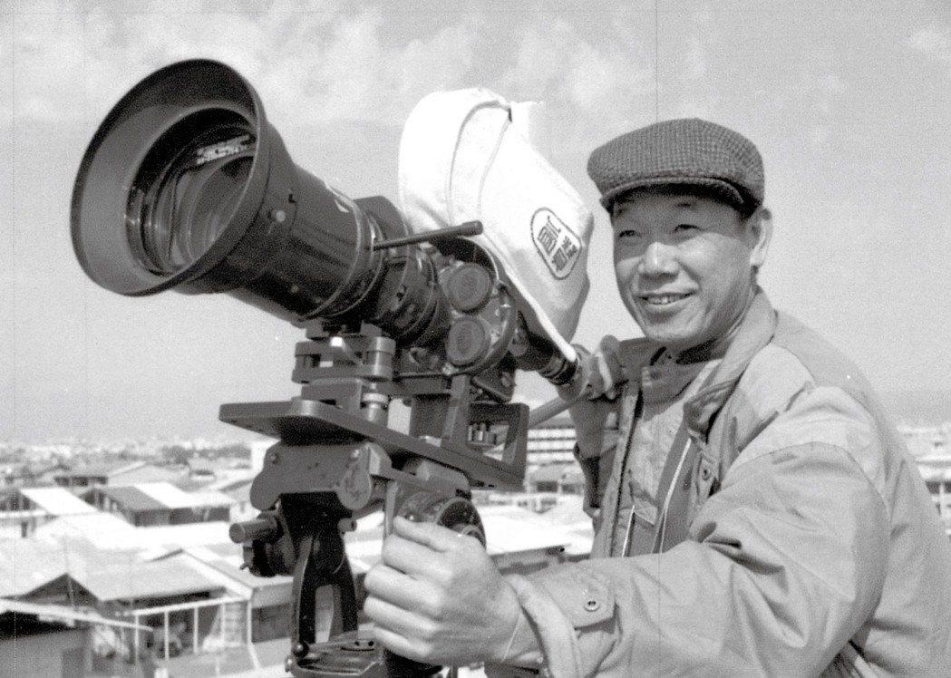 攝影師林贊庭榮獲第58屆金馬獎「終身成就獎」。圖/國家電影及視聽文化中心提供