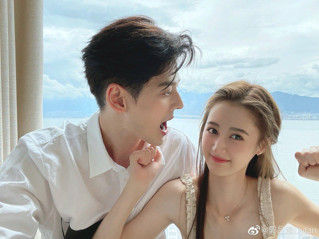 郭品超認愛小19歲女友馬澤涵。圖/摘自微博