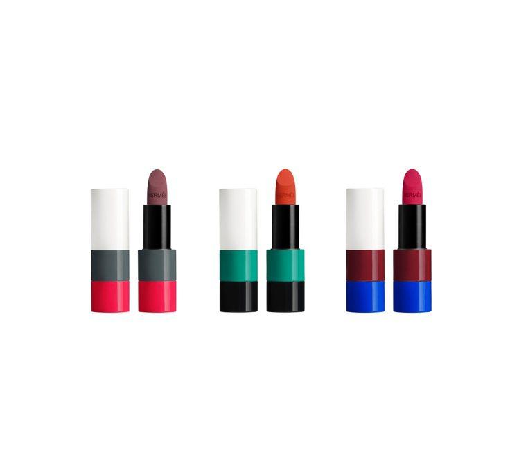 愛馬仕Rouge Hermès唇妝系列2021秋冬限量版登場,以「夜之光芒」為主...