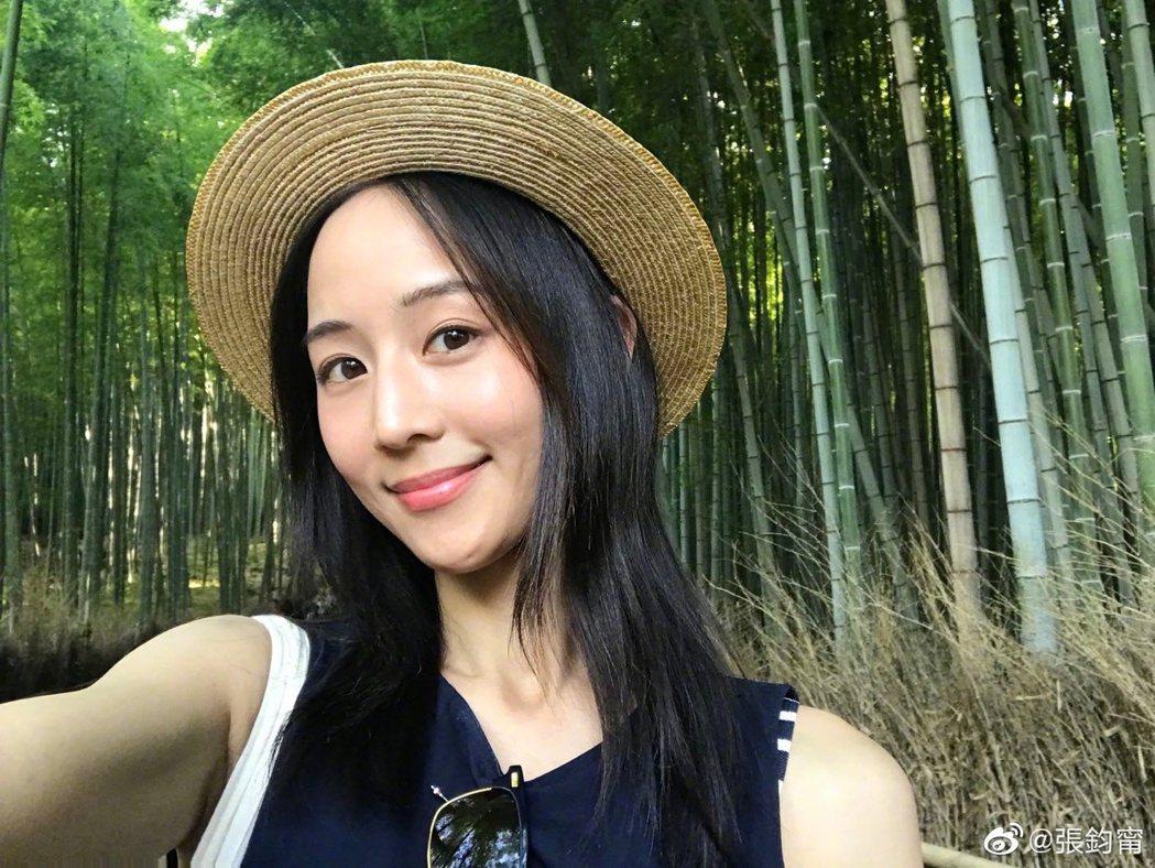 張鈞甯強調自己不是台獨。 圖/擷自weibo。