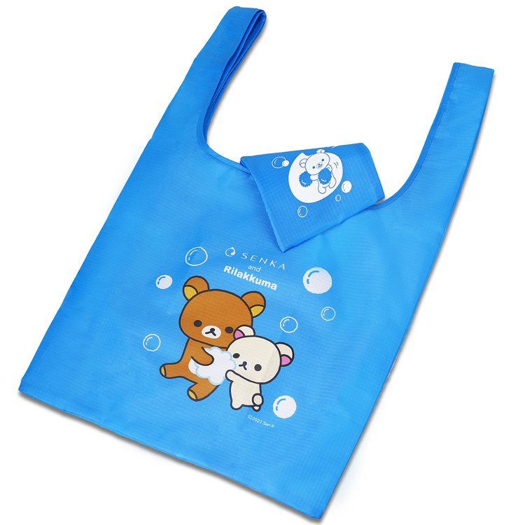 專科與拉拉熊合作,滿額送購物袋。圖/專科提供