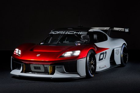 排位賽模式馬力超過1,000ps!保時捷發表Mission R概念純電賽車