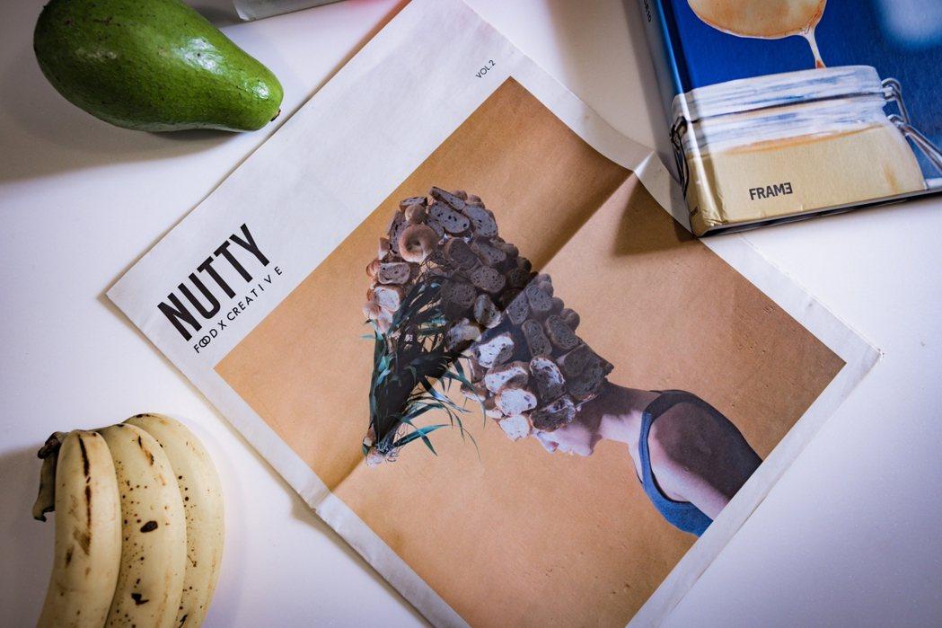 陳小曼獨立出版食物影像刊物「Nutty」,她說,我第二人生的雛形應該是從這份刊物...
