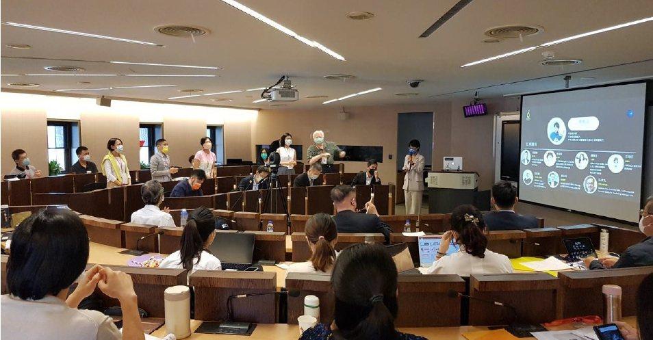 社會創新管理師成果發表,學員發表。 圖/「台灣社會創新永續發展協會」提供