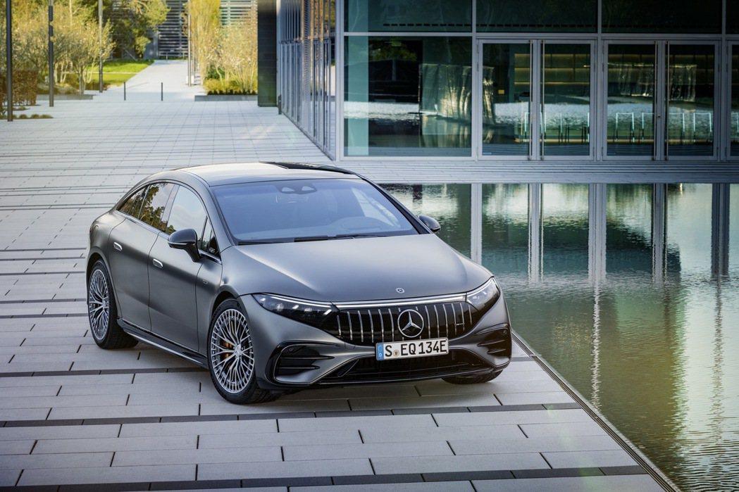 Mercedes-AMG EQS 53 4Matic+能夠爆發出751hp的最大...