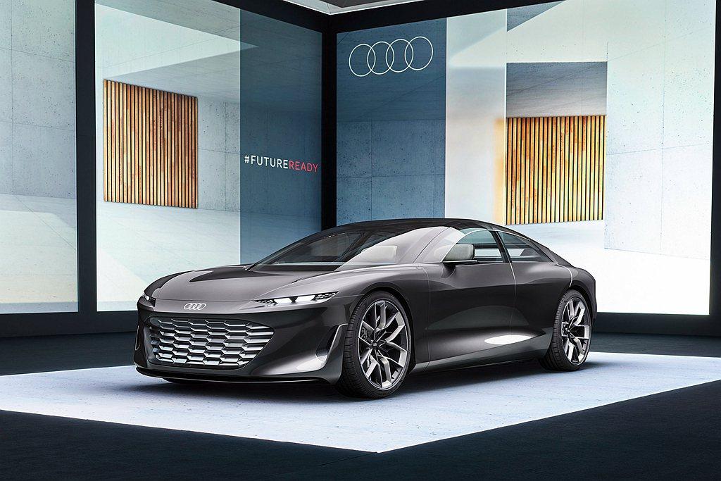 Audi第二款sphere純電系列概念車grandsphere Concept全...