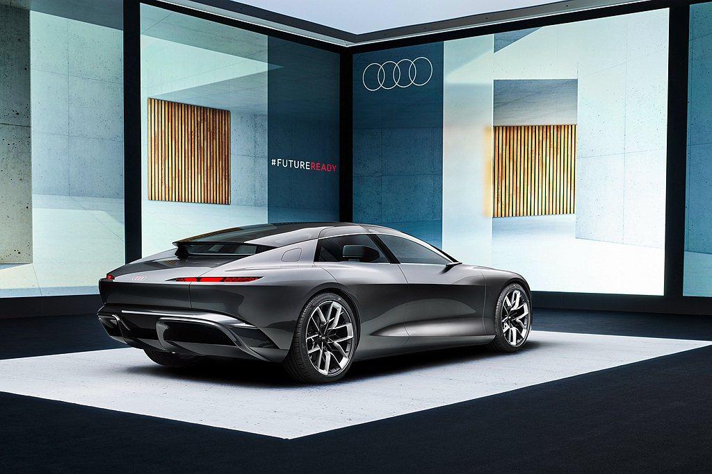 Audi grandsphere概念車採用Premium Platform El...