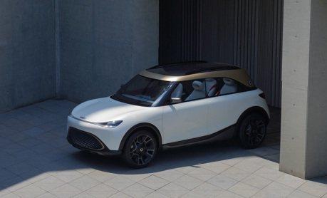 吉利汽車入股Smart後首款車型 Smart Concept #1 正式亮相