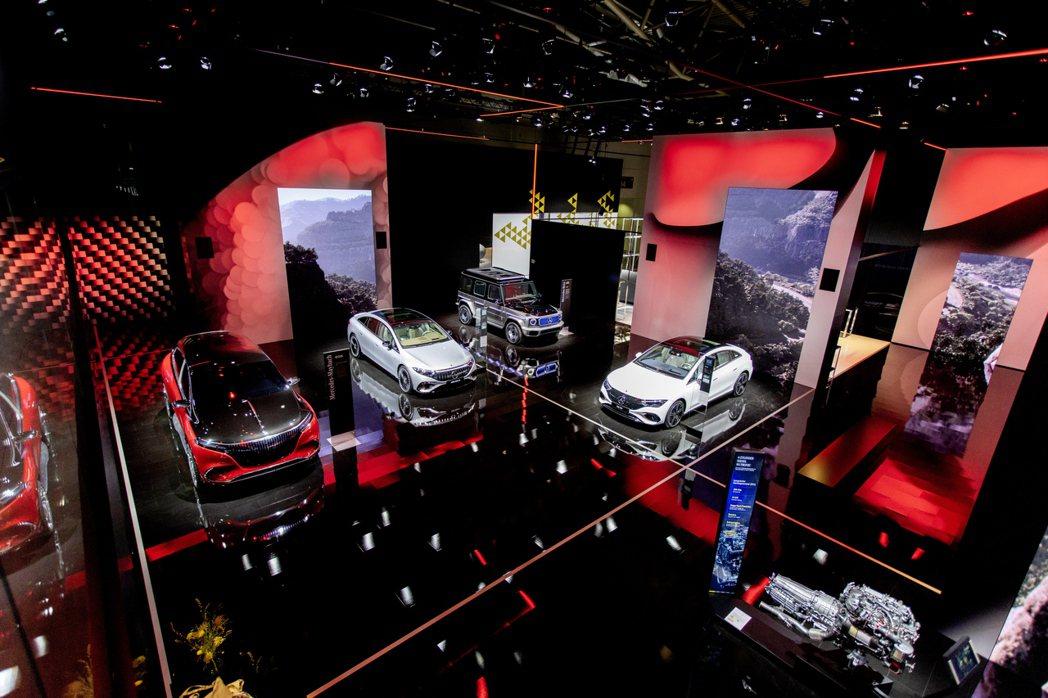 Mercedes-Benz在今年的慕尼黑車展上發表多部全新電動車。 摘自Merc...