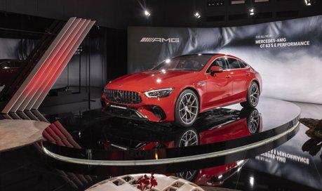台灣計畫2022年引進 賓士最強四門轎跑Mercedes-AMG GT 63 S E Performance實車現身慕尼黑車展!
