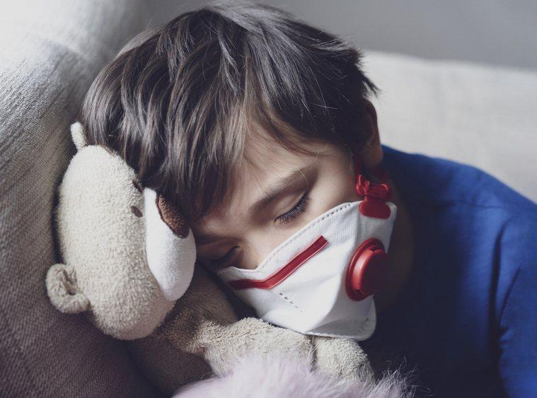 兒童咳嗽。示意圖/ingimage