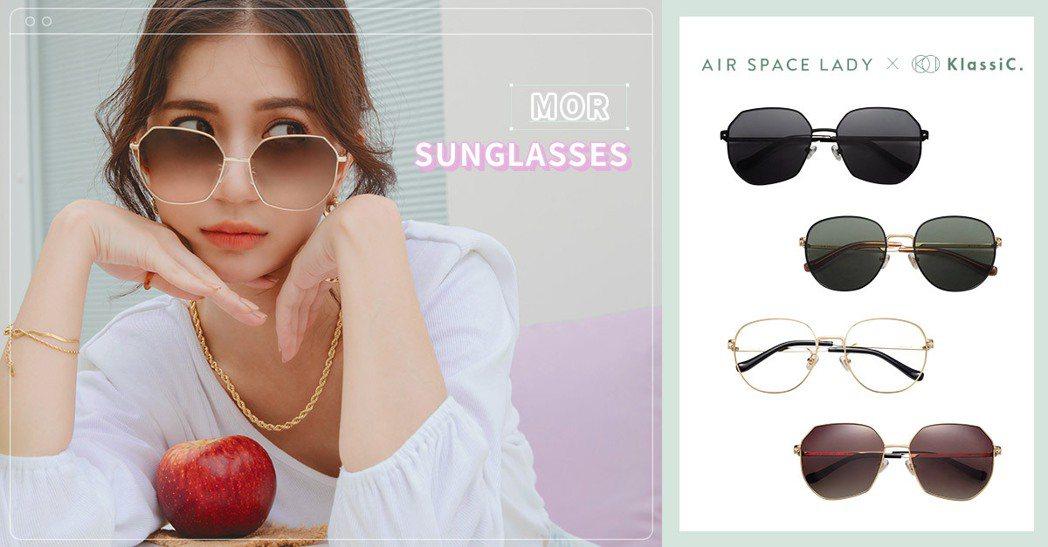 KlassIC.為台灣新銳眼鏡/墨鏡品牌,簡約大方的橢蛋框型,輕鬆打造氣質LOO...