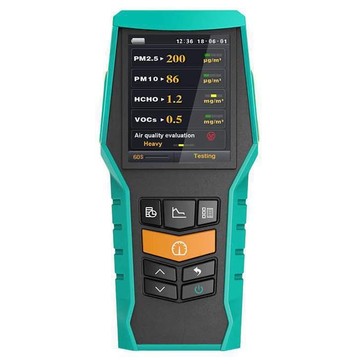 手持式二合一氣體檢測儀。  道達國際/提供