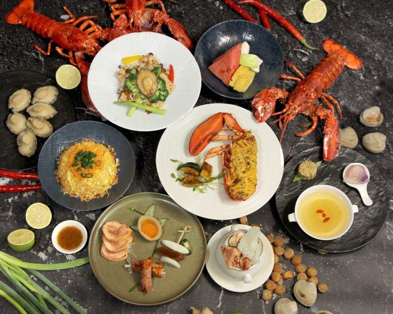 海龍王極饌饗宴,雙人套餐每套3,688元,含7道美味料理與四季鮮果 台北天成/提...