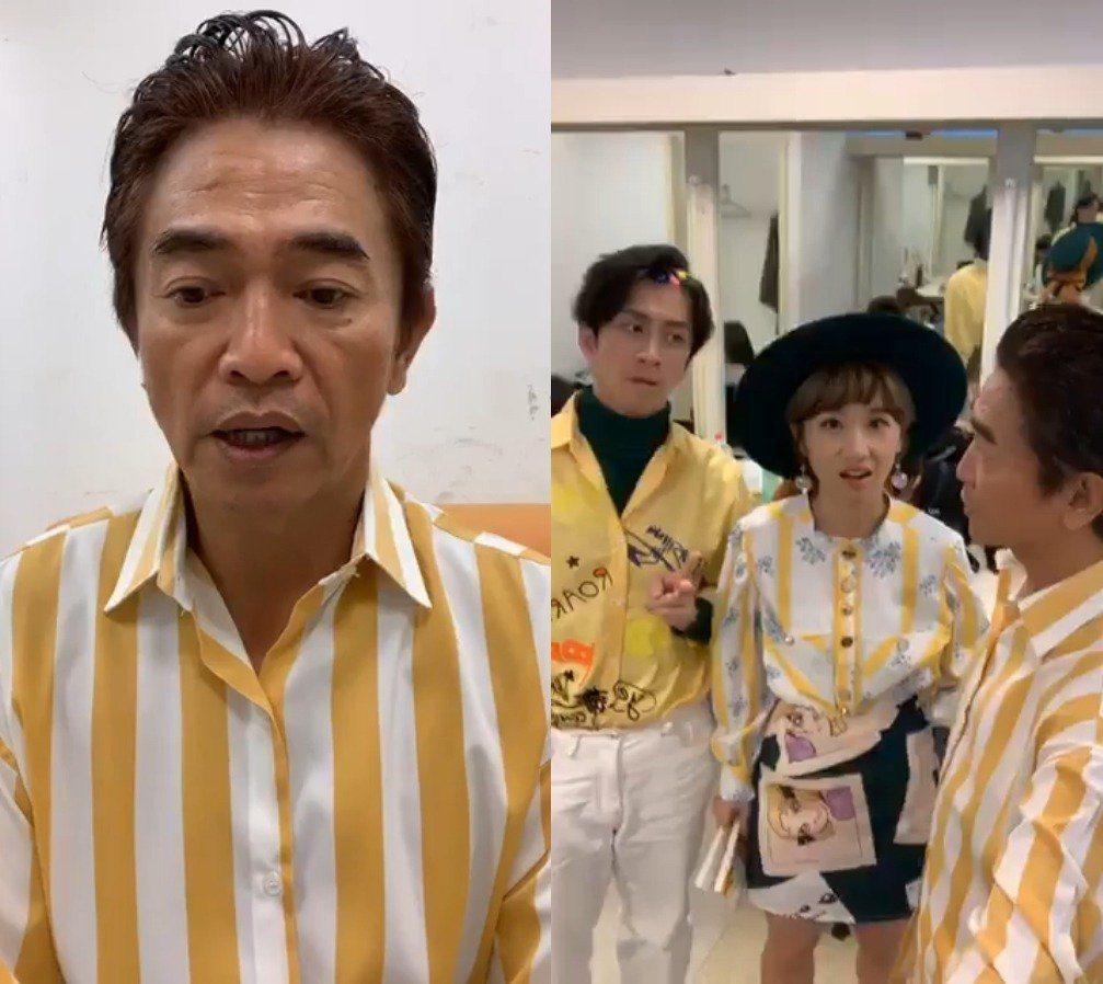 吳宗憲58歲了,帶著Lulu和陳漢典一起衝綜藝多年。圖/吳宗憲臉書