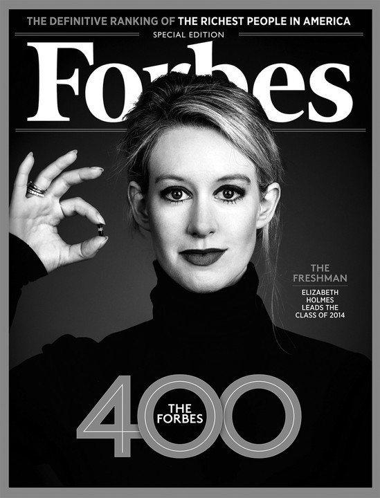 荷姆斯2015年被富比世(Forbes)雜誌評為「全球最年輕白手起家的億萬女富豪...