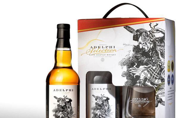 限量艾德菲調和威士忌秋節禮盒CP值超高600元搞定