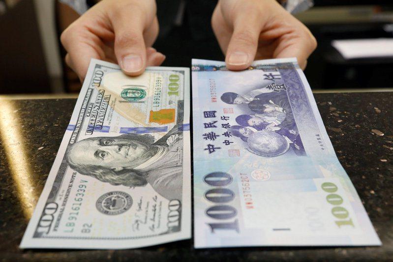 新台幣連續兩個交易日走貶。路透