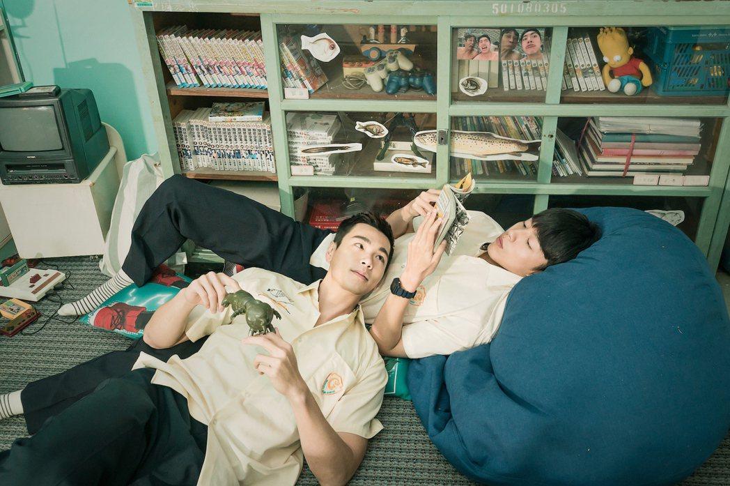 禾浩辰(左)和蔡凡熙甜蜜同居。圖/羚邦集團提供